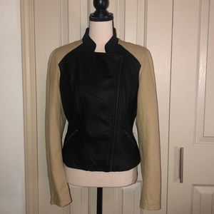 TCEC Faux Leather Jacket